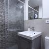 Baño, detalle de mampara