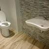 Montaje baño para casa en construcción