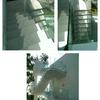 Barandillas Vidrio 8+8 incoloro instaladas