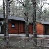 Cabañas en el Campamento de La Esperanza