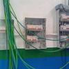 Cableando cuadros taller mecánico