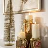 candelabro navidad DIY