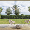 Casa abierta al mar en la playa de Sitges