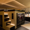 Proyecto para casa con espacios abiertos y de 100m2 apox. con 1 planta, 3 habitaciones y 2 baños