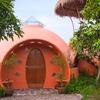 casa cúpula