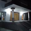 Casa del Arquitecto - Fachada principal (visión nocturna)
