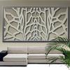 Foto: Celosía decorativa en pared de salón