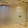 Cerramiento de cristal de las oficinas