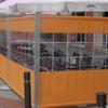 Cerramieto terraza de Restaurante y Bar