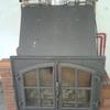 Chimenea de leña insertable para la calefacción por agua