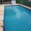 chiringito y piscina
