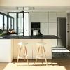 Pintar techo de salón + cocina americana ( 30 m2 )