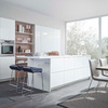 Foto: Cocina con muebles lacados