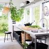 cocina exterior en cobertizo