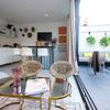 Cocina - terraza - salón