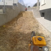 colocación de bancadas y plantas