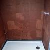 Colocación plato de ducha