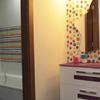Colores en el baño de los niños