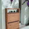 Conjunto de mueble de jardín plegable