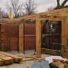 Construcción de la estructura de madera