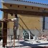 Construccion de porche de madera