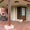Construcción de vivienda nueva unifamiliar aislada - entrada