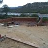 Construccion perimetro piscina