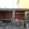 Construccion porche con paellero y lavadero