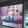 cortina vertical de lama de 127 mm