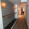 Creación de barra de carpintería e iluminación