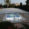 Suministro e instalación de una cubierta para piscina