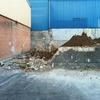 Demolición de la zona donde va a ser ubicado el edificio.