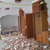 Demolición de tabiques para volver a proporcionar las dimensiones de habitaciones y baño principal