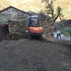Demolición, excavación, impermeabilización.