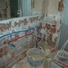 Demolición lavabo anterior