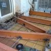Derribo y construcción de balcón