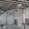 Desarrollo de la obra. Vista sala de locución 1
