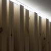detalle listones de madera