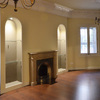 Detalle salon / chimenea decorativa