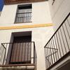 Detalle balconeras dormitorios. Mosquitera y persiana