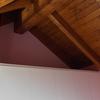 Detalle cubierta madera interior