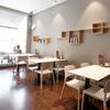 Detalle de mesas y sillas