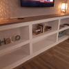 Detalle de mueble de obra de yeso laminado