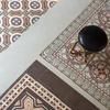 Detalle del mosaico hidráulico