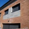 Detalle fachada viviendas intermedias