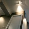 detalle iluminación pasillo
