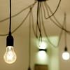detalle luces comedor