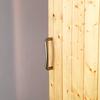 Detalle madera y acero