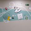 Detalle Mural oficina TCC