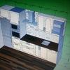 Diseño 3D de la cocina